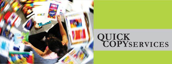Quick Copy Services
