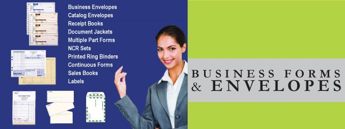 Business Forms & Envelopes