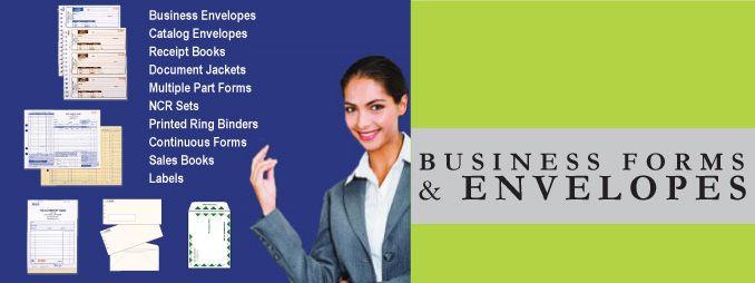 Business Forms & Envelopes